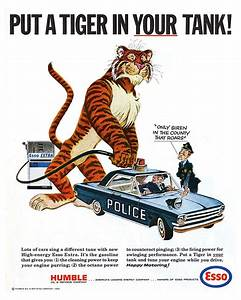 Esso Put A Tiger In Your Tank Police Car Metal