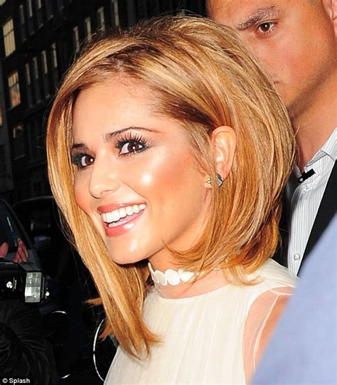 Cheryl Coles New Blonde Bob ~ Prom Hairstyles