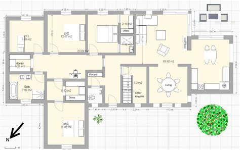 plan de maison plain pied 5 chambres mes plans de maison plain pied 9 messages