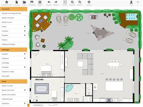 logiciel pour cuisine 3d gratuit plan maison gratuit avec archifacile dessinez vos plans