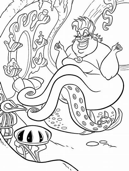 Coloring Pages Ursula