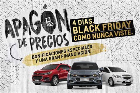 Chevrolet Black Friday blackfriday chevrolet propone importantes bonificaciones