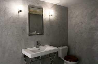 beton cire sur carrelage mural salle de bain salle de bain avec murs gris en b 233 ton cir 233 sur carrelage