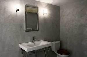 Beton Ciré Salle De Bain Sur Carrelage : b ton cir sur carrelage conseils pour faire en mural et sol ~ Preciouscoupons.com Idées de Décoration