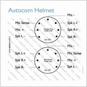Autocom 7 Pin Helmet Wiring Data