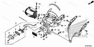 Honda Motorcycle 2010 Oem Parts Diagram For Taillight