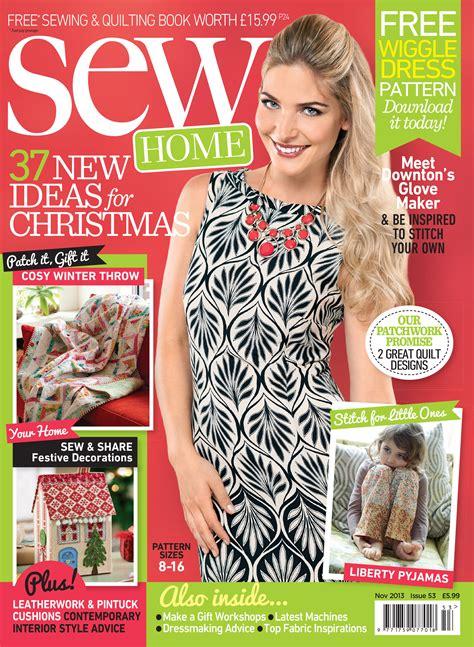 November 2013 Templates - Magazine Templates - Sew Magazine