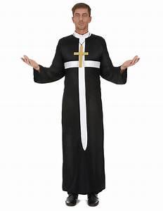 Priester Kostm Mit Weissem Kreuz Fr Erwachsene
