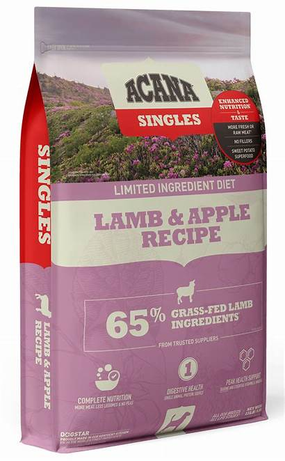 Acana Lamb Apple Dog Singles 13lb Lbs
