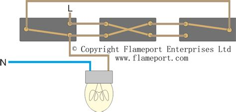 Lighting Circuit Diagrams For Way Switching