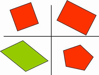 Shapes Maths Odd Shape Geometry Different Exploration