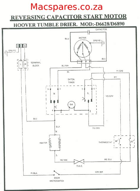 5kg Wire Diagram by Connection Wiring Diagram Volovets Info