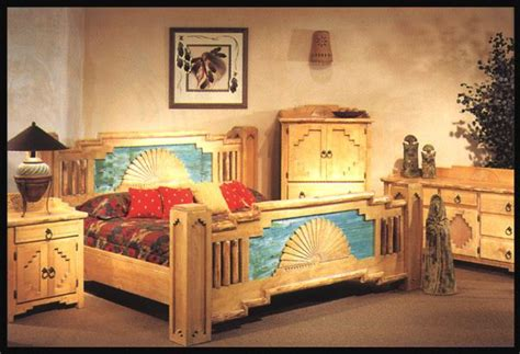Southwestern Bedroom Furniture by Southwest Bedroom New Mexico Style