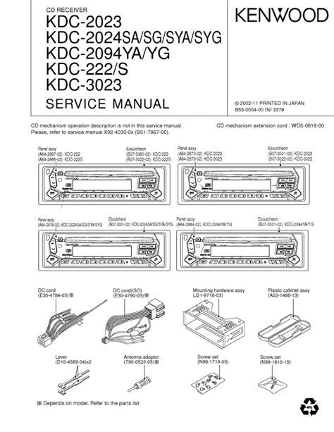 kenwood kdc 119 wiring diagram webtor me