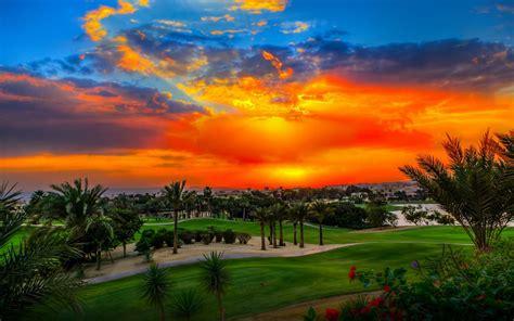 Sunset-Katameya Heights Golf and Tennis Resort-Hd Desktop ...