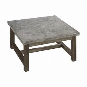 home styles 5133 21 concrete chic square coffee table With square outdoor patio coffee table