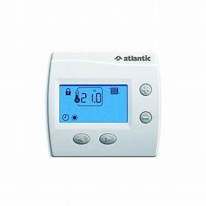 Thermostat Radiateur Electrique : thermostat pour plancher rayonnant lectrique atlantic ~ Edinachiropracticcenter.com Idées de Décoration