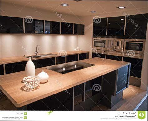 deco cuisine blanc et bois impressionnant cuisine noir et bois et cuisine noir et