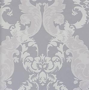Tapete Ornamente Grau : ornamentals barock tapete ornamente 48662 grau ros wei ~ Buech-reservation.com Haus und Dekorationen