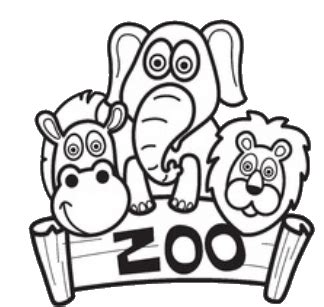 kids stuff zoo coloring pages