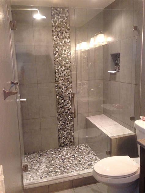 Walk In Shower Designs For Small Bathrooms by Completed Shower Door In Denver Colorado Exquisite