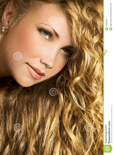 Golden Hair by Golden Hair Stock Photo Image Of Hair