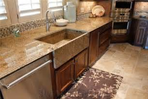 mascarello granite kitchenn countertop farm sink from