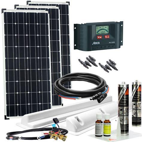solaranlage wohnmobil komplett set offgridtec 174 300wp wohnmobil solaranlage 300 watt wohnwagen solar set komplett ebay