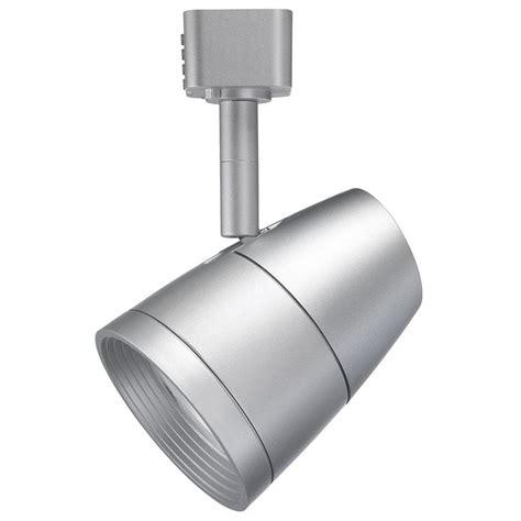 juno trac lites r600l series led 10 watt silver track