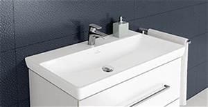 Waschbecken 80 X 40 : waschtische und waschbecken bad mit stil villeroy boch ~ Bigdaddyawards.com Haus und Dekorationen