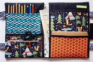 Dessin Fait Main : sacoche de dessin pochette d 39 artiste pour enfant fait ~ Dallasstarsshop.com Idées de Décoration