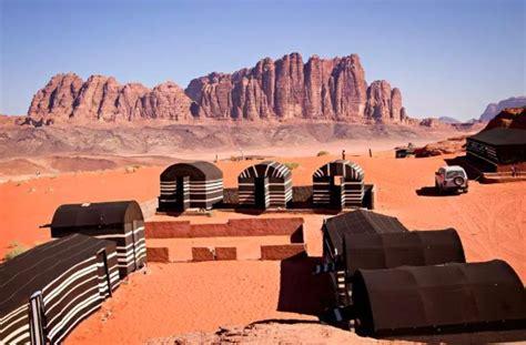 bedouin tent airbnb  wadi rum jordan
