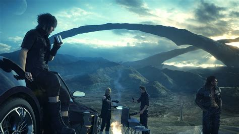 'final Fantasy Xv' Omen Trailer A Haunting Short Film