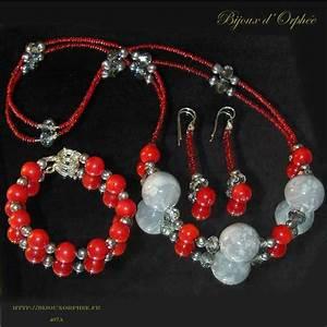 creation bijoux fantaisie parure murano bleue bijoux With création bijoux fantaisie