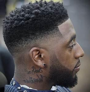 Dégradé Americain Court : coiffure afro homme d grad ~ Melissatoandfro.com Idées de Décoration