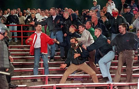 British soccer hooligans exported fan violence, and this ...