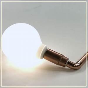 Comment Fabriquer Une Lampe : notre diy d co pour fabriquer une lampe en cuivre elle d coration ~ Medecine-chirurgie-esthetiques.com Avis de Voitures