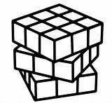 Cube Rubiks Coloring Solution Rubik Imaginative Children Fun Pages sketch template