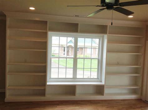 Bookcases Around Windows Styles Yvotubecom