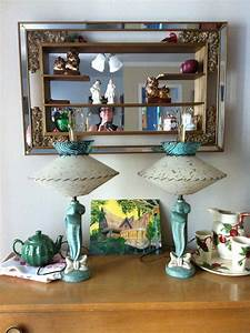 Vintage Home  Shadowboxes  Lamps  And Side Tables   Oh My