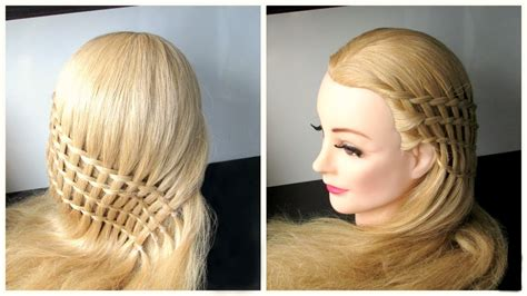 Hairstyles Hair by Braided Waterfall Hairstyle Feather Waterfall And Ladder