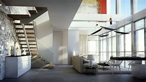 Luxurious duplex apartment in Jerusalim 3D Visualisation ...