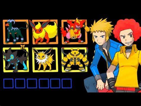 pokemon owned  sinnoh gym leaders diamond