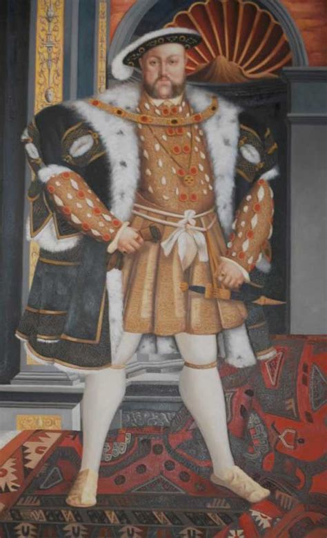 xl oil painting king henry viii   english monarch