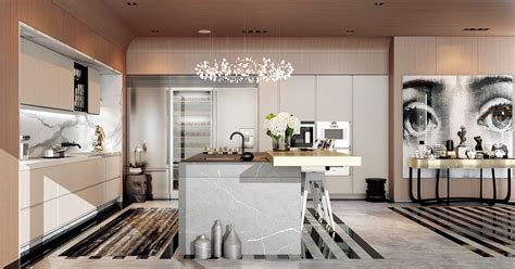 deco home interiors a modern deco home visualized in two styles