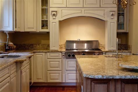 Golden Beach Granite Kitchen   Traditional   Kitchen   DC