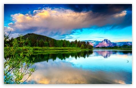 Beautiful Spring Scenery 4k Hd Desktop Wallpaper For