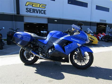 Kawasaki Zx 14r Blue Motorcycles For Sale