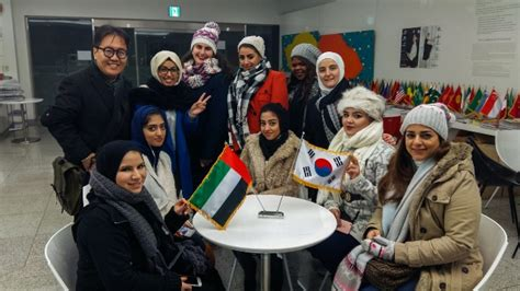 ajman university students experience student exchange