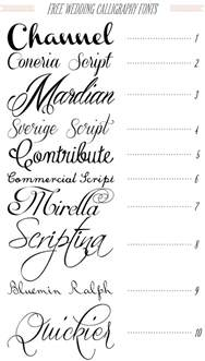 wedding font free 40 fonts for diy printable wedding invitations channel typography fonts